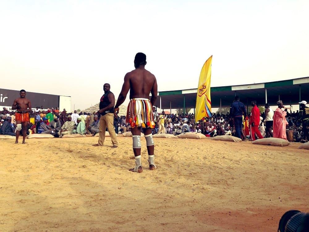Спортивные состязания в Аргунгу