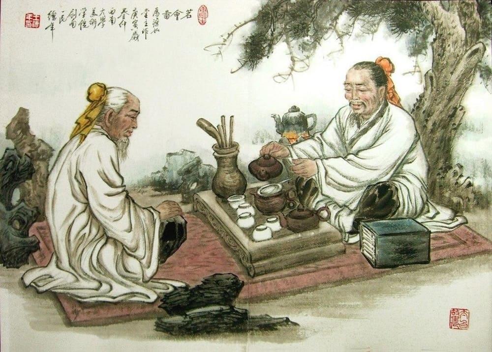 Чайные традиции хань