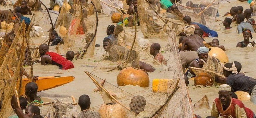 Фестиваль рыболовной ловли в Нигерии