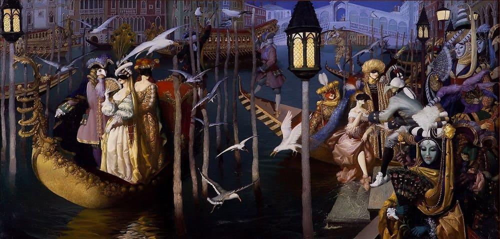 Геннадий Спирин «Венецианский карнавал»