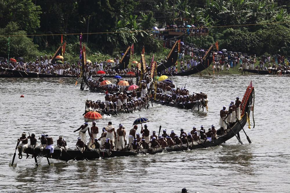 Гонки на змеиных лодках завершают фестиваль / keralatourism.org