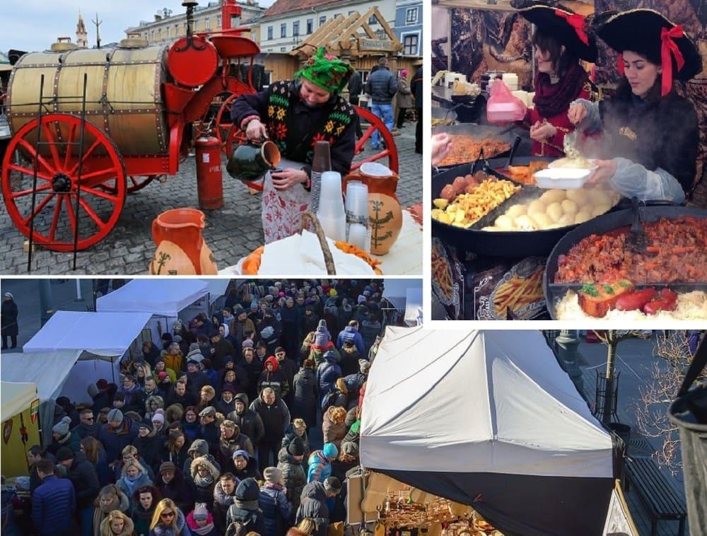 На фестивале Казюкас вы точно найдете чем перекусить