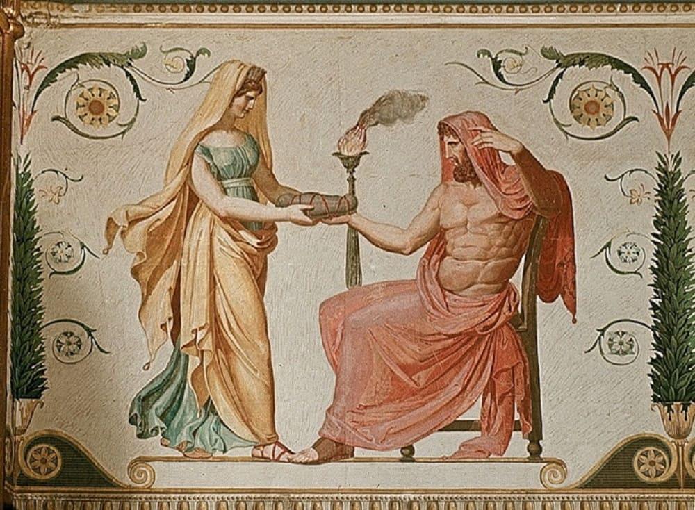 Фридрих Шинакель «Античный цикл», XIX век Местонахождение: Орденский дворец, Берлин, Германия (не сохранилось)