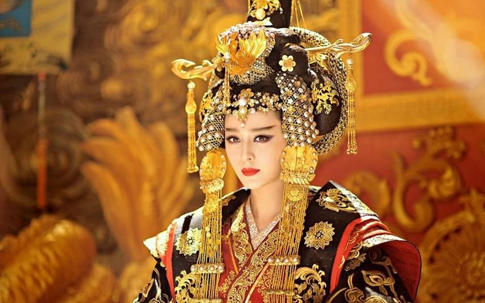 Лэйчжу - супруга жёлтого императора (кадр из фильма)