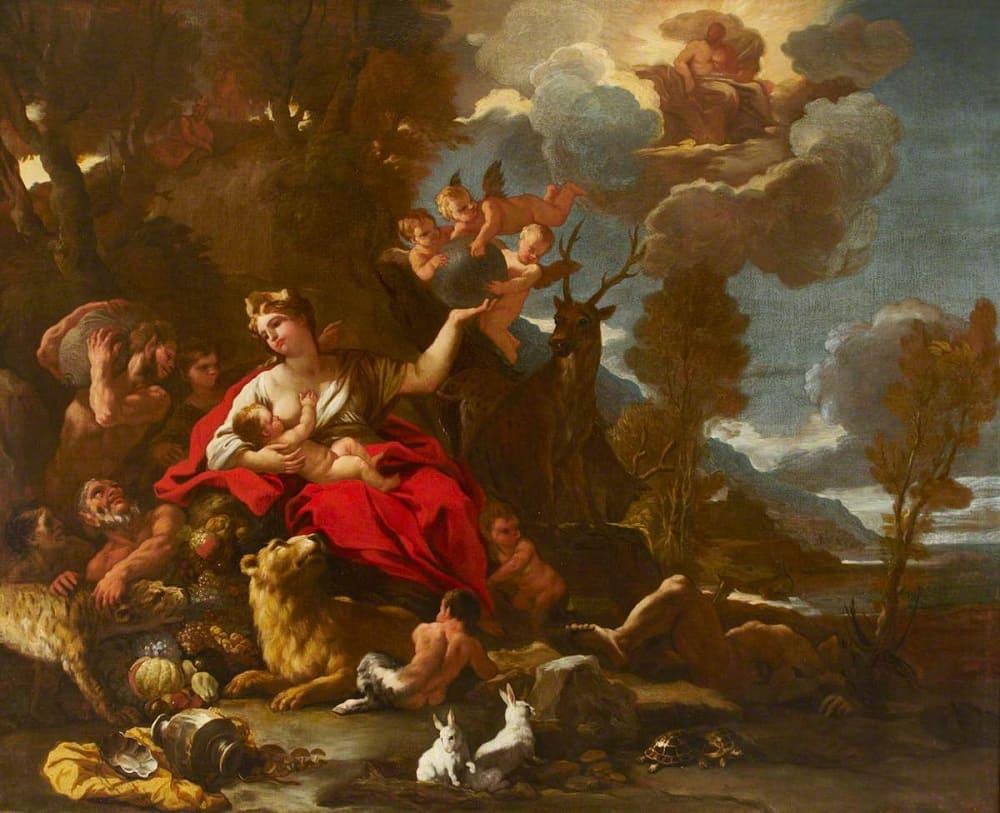 Лука Джордано «Кибела», 1687 год Местонахождение: Национальный фонд Великобритании