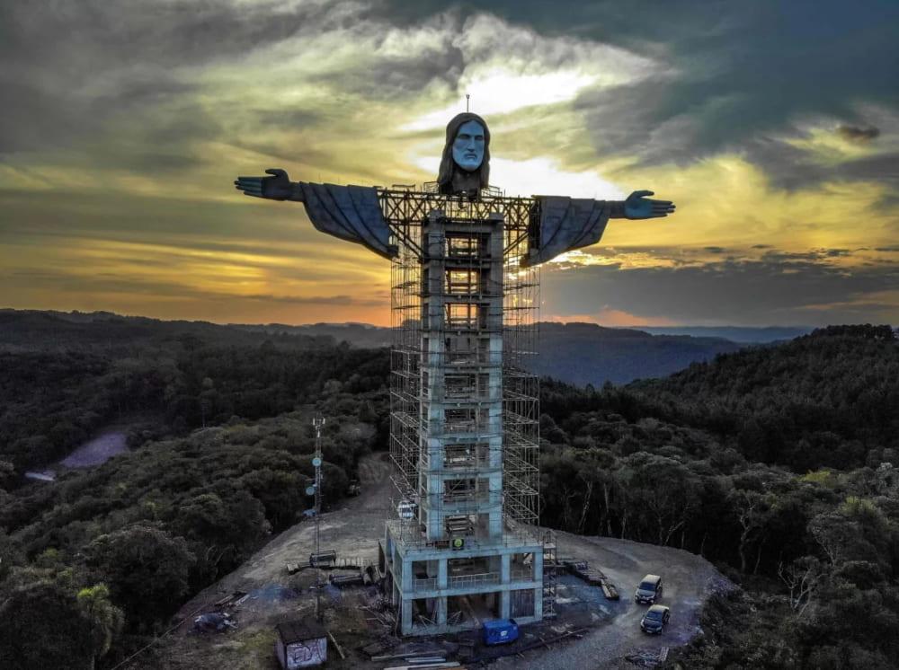 Новая статуя Христа в Бразилии / © AFP