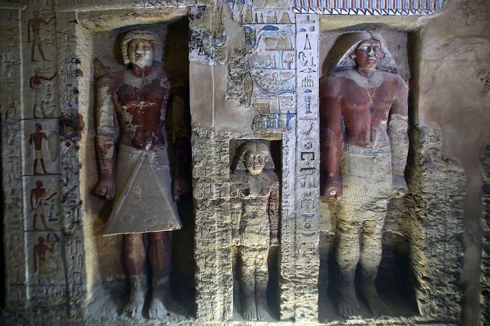 Одна из гробниц внутри Ahmed Gomaa / Xinhua / Scanpix / LETA