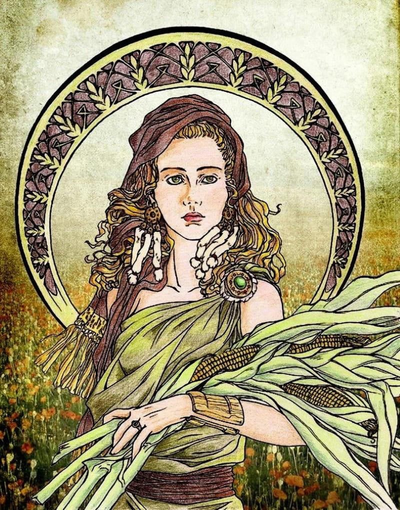 Римская богиня Опа