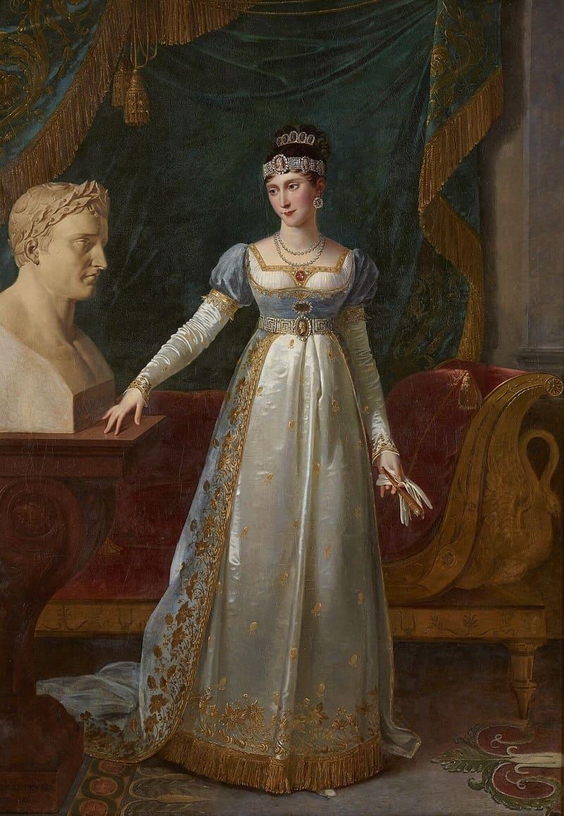 Робер Лефевр «Полина Бонапарт»,1806 год Местонахождение: Версаль, Франция