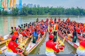 Праздник лодок дракона в Китае / mtanetwork.net
