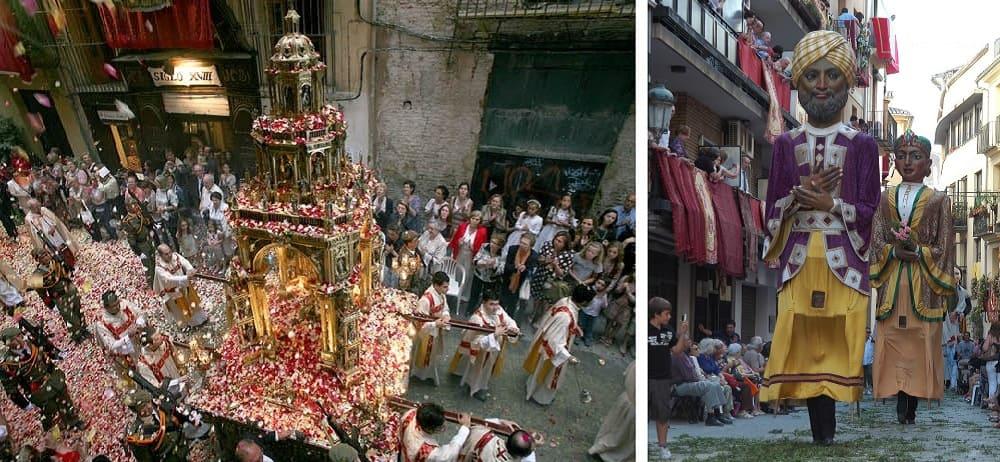 Праздник на улицах Испании / connfit.com