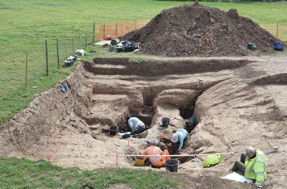 Раскопки в Северном Йоркшире, Великобритания / © S.J. Sherlock