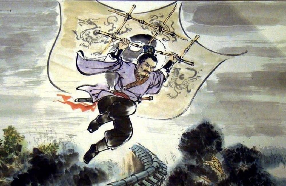 Считается, что к VI веку китайцы уже использовали змеев как дельтаплан / legacytimesmedia.com