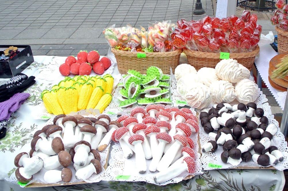 Литовские сладости на фестивале