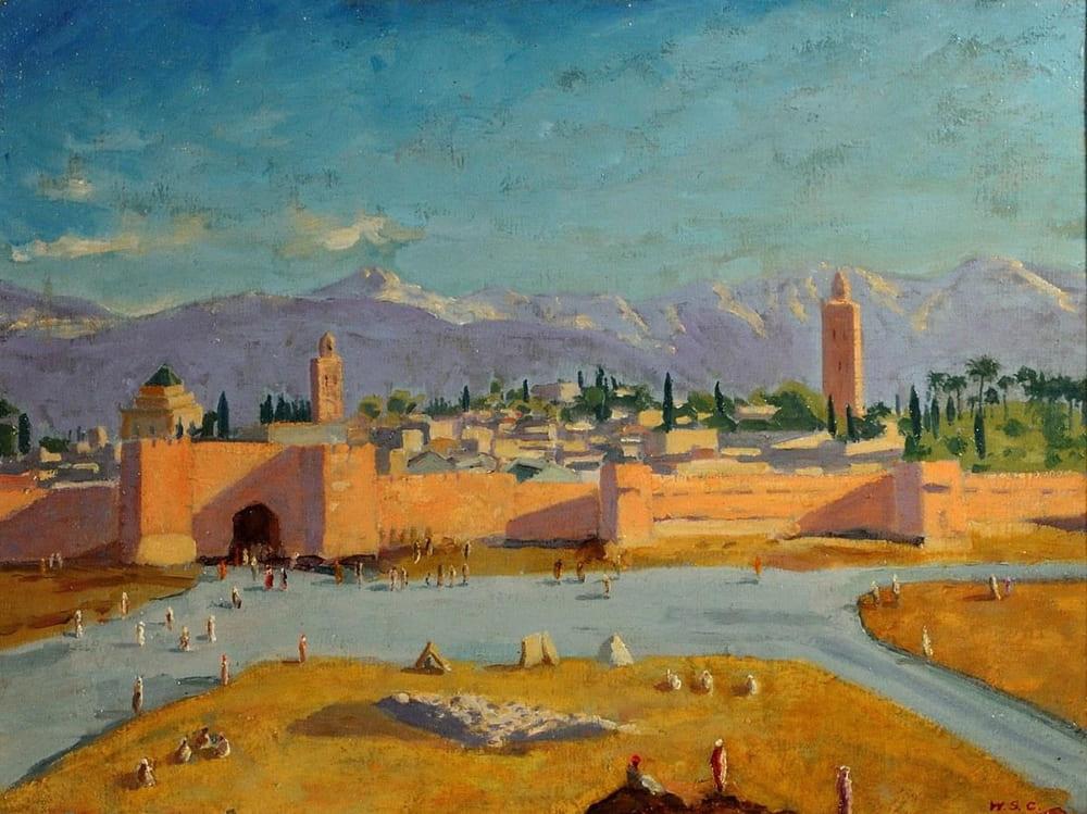 Уинстон Черчилль «Башня мечети Аль-Кутубия»