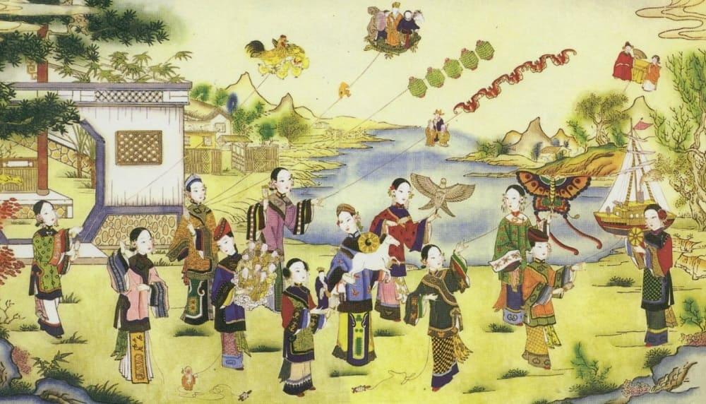 Воздушные змеи появились в Древнем Китае