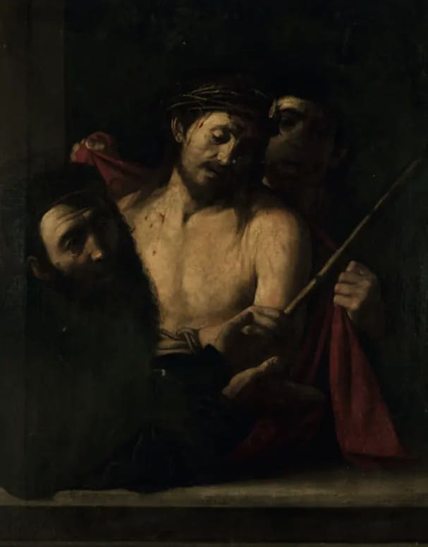 «Ecce Homo», возможная картина Караваджо XVII века / Ansorena.com