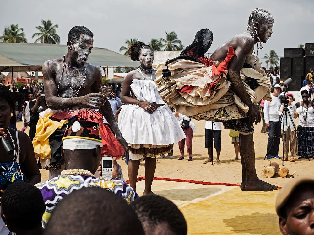Ритуал вуду в Бенине / shegby.com