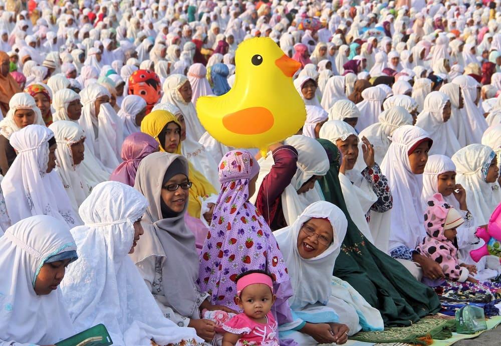 Ураза-байрам это весёлый праздник / aljazeera.com