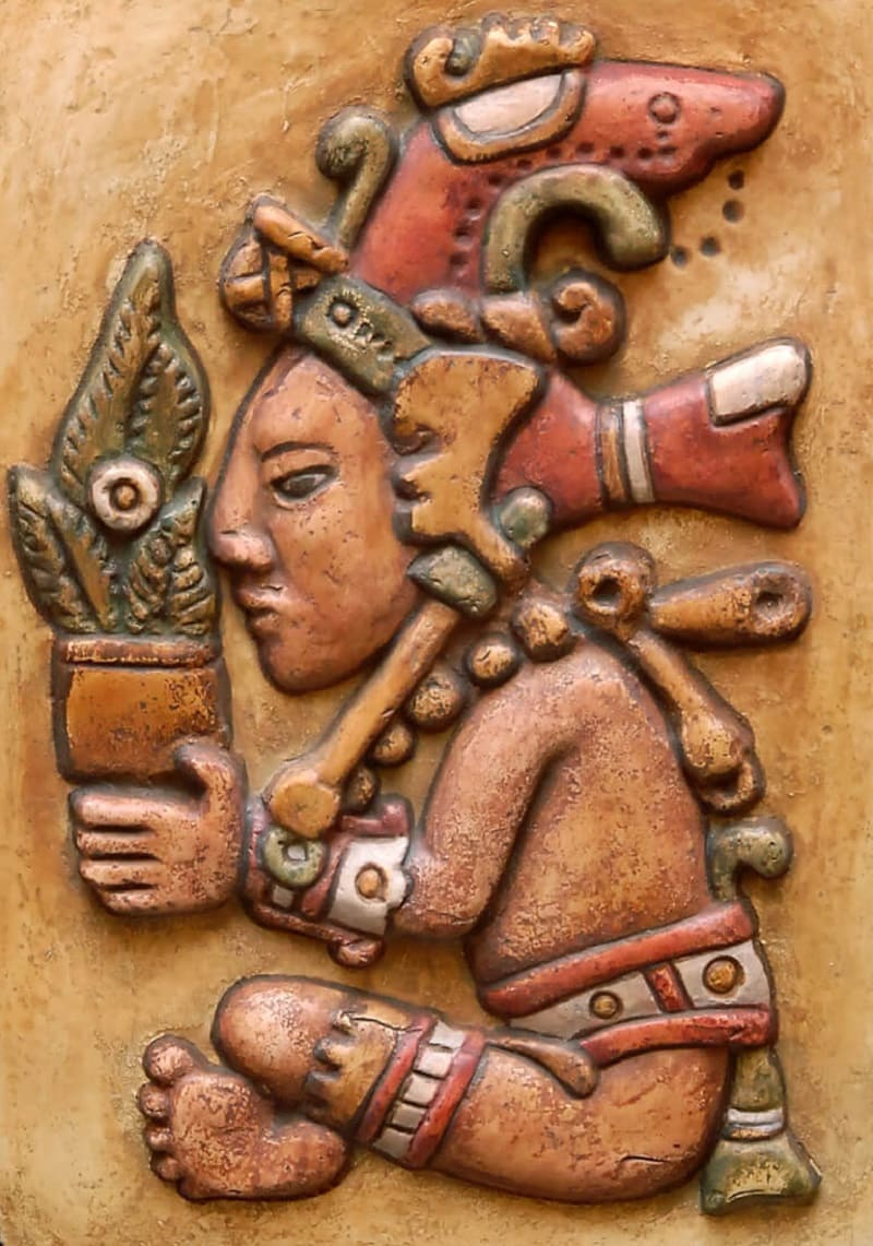 Покровитель кукурузы бог Центеотль