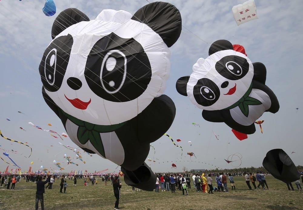 Как же без всеми любимых панд на фестивале