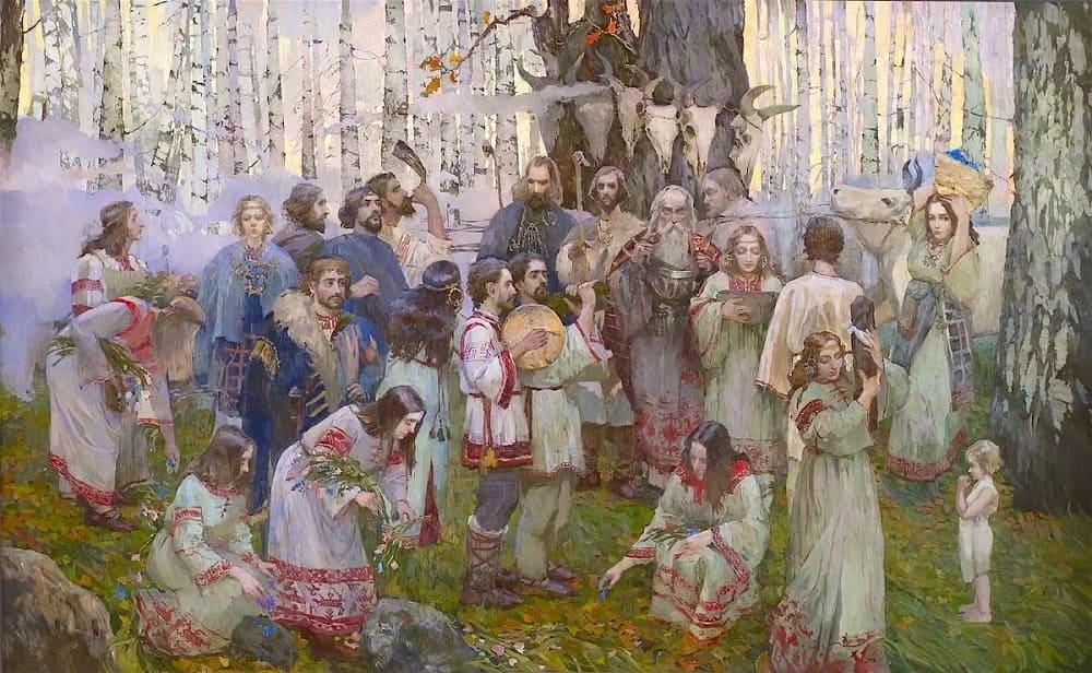 Славянские ритуалы на Радоницу