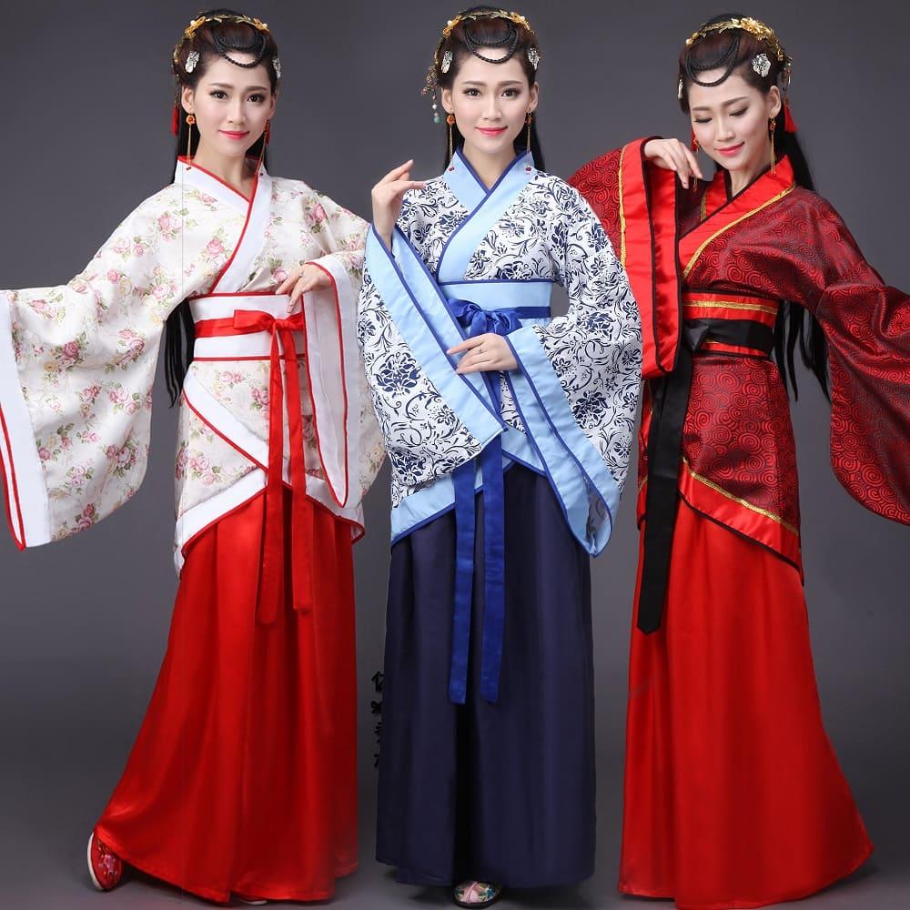 Традиционный наряд ханьцев (ханьфу)