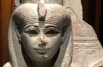 Богиня Мут Египетский музей, Турин