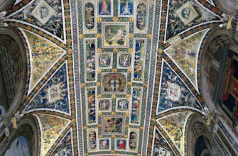 Гротеск. Роспись потолка Сиенского собора XVI век
