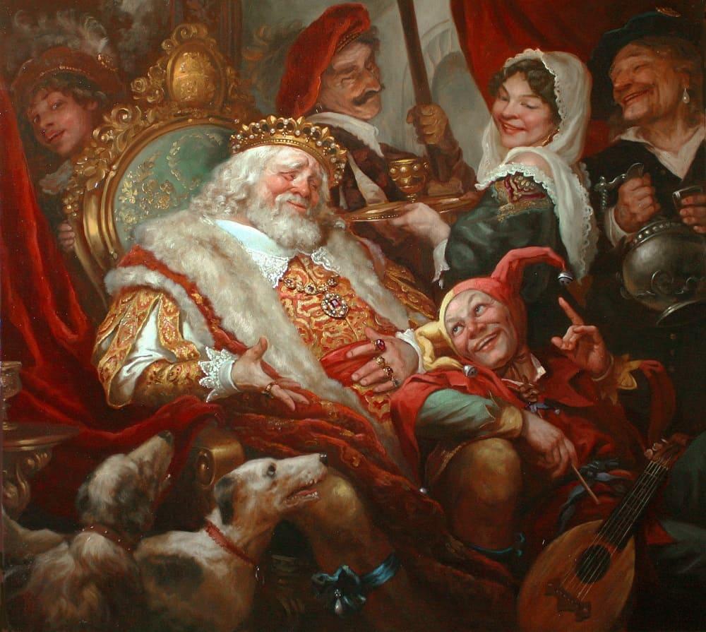 Андрей Шишкин «Король и шут»