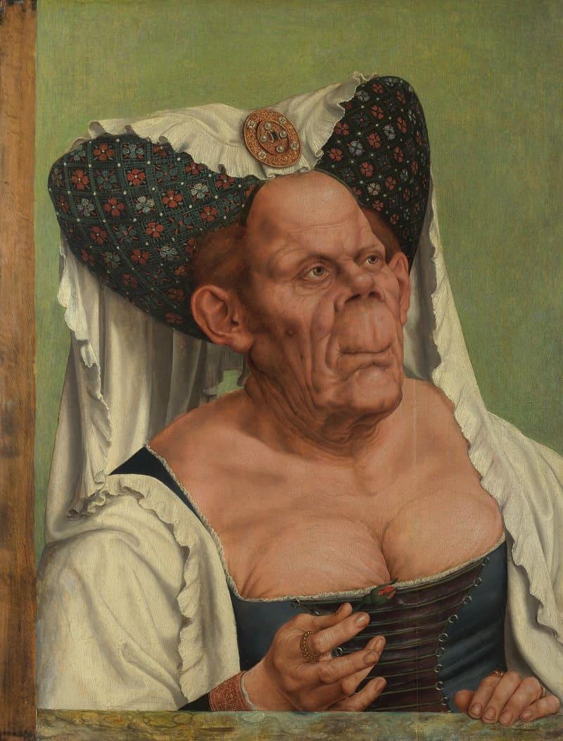Квентин Массейс «Безобразная герцогиня» , около 1513 года Местонахождение: Национальная галерея Лондон, Великобритания