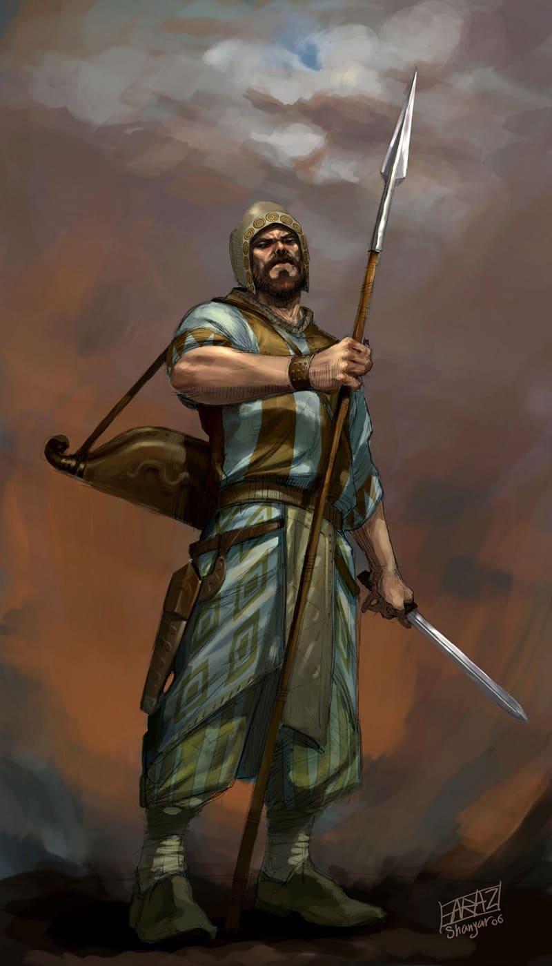 Мидийский воин / © Faraz Shanyar / farazshanyar.artstation.com