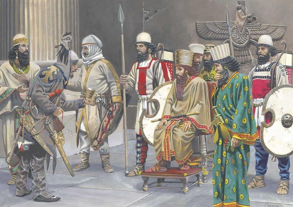 Мидийцы и персы