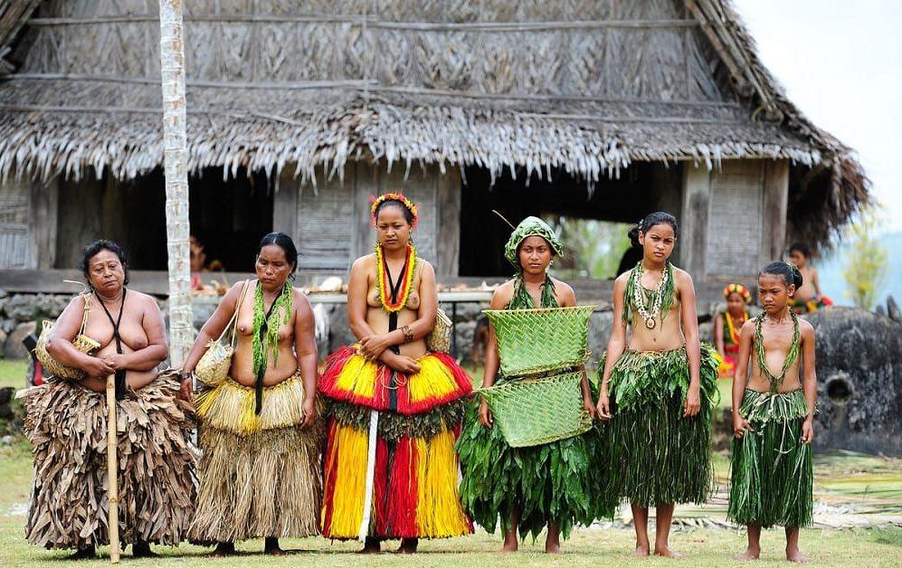 Микронезийские женщины