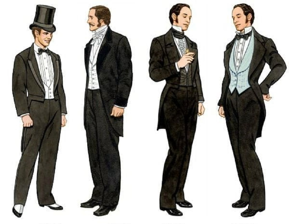 Мужской костюм XIX века