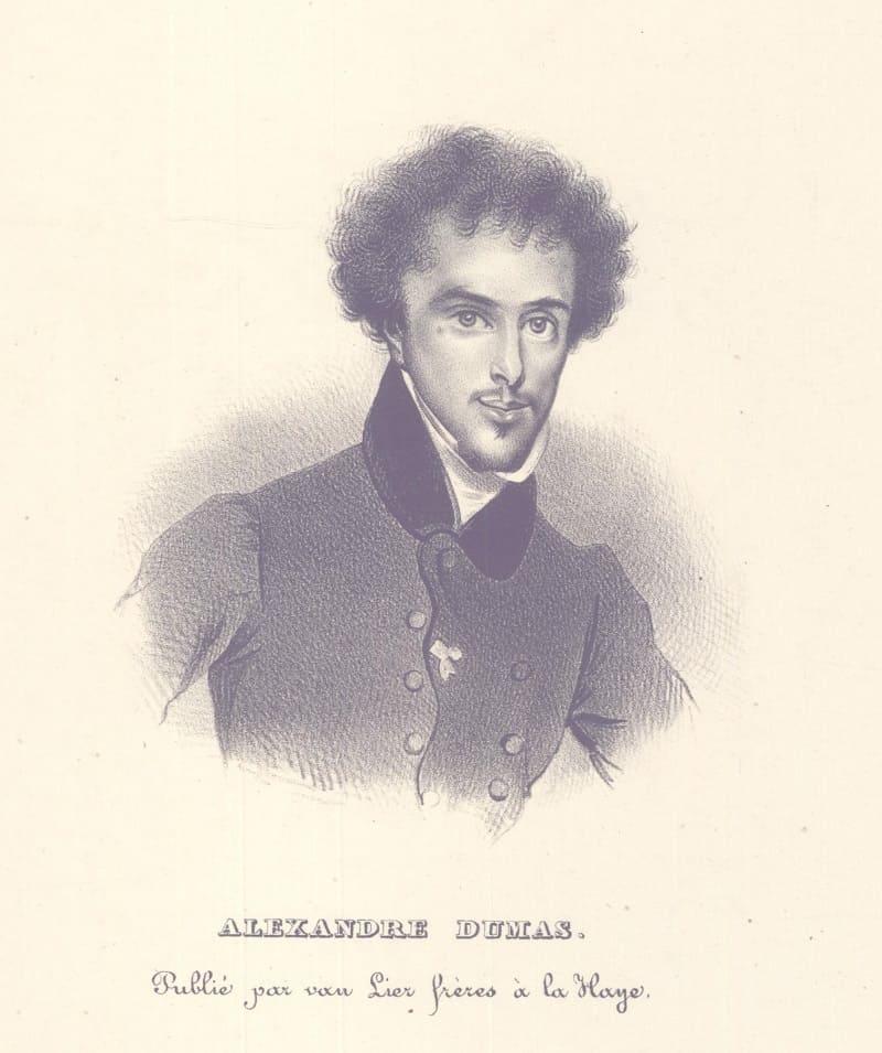 Портрет Александра Дюма Местонахождение: Британский музей, Лондон, Великобритания