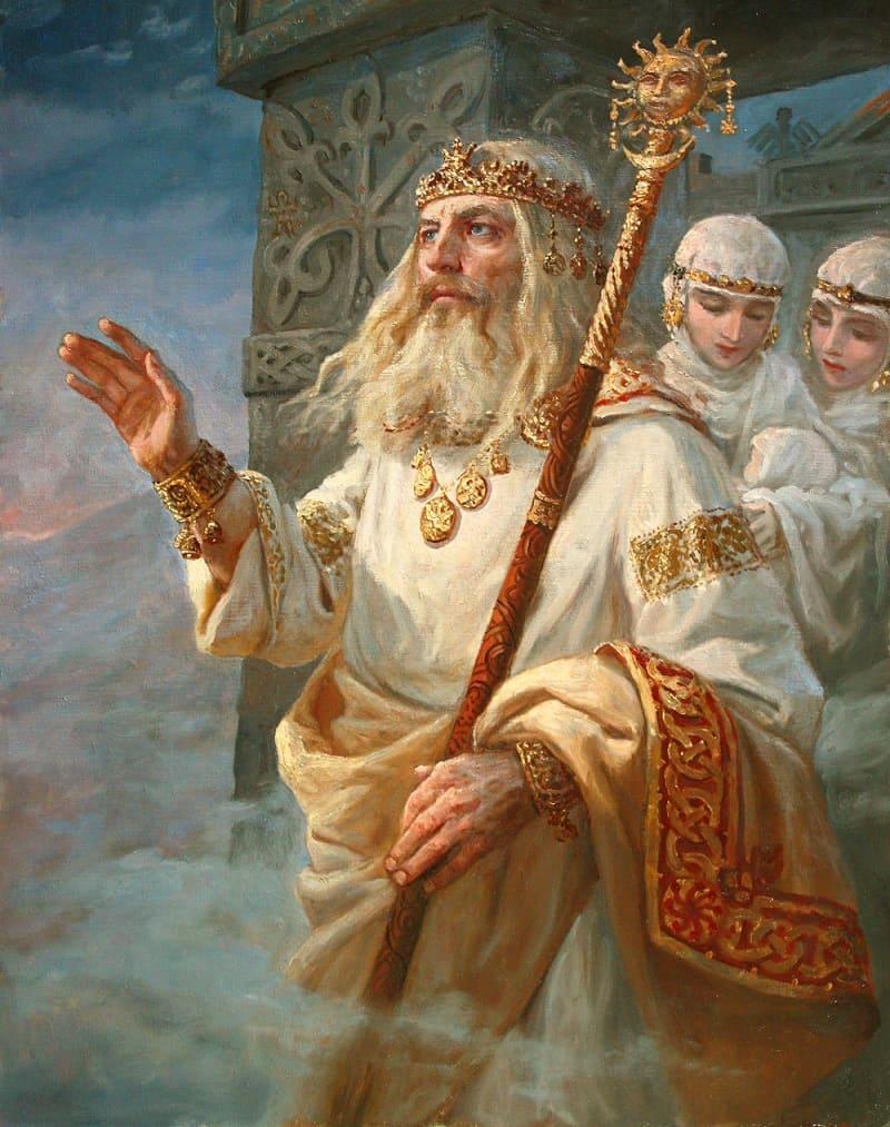 Андрей Шишкин «Род и Рожаницы»