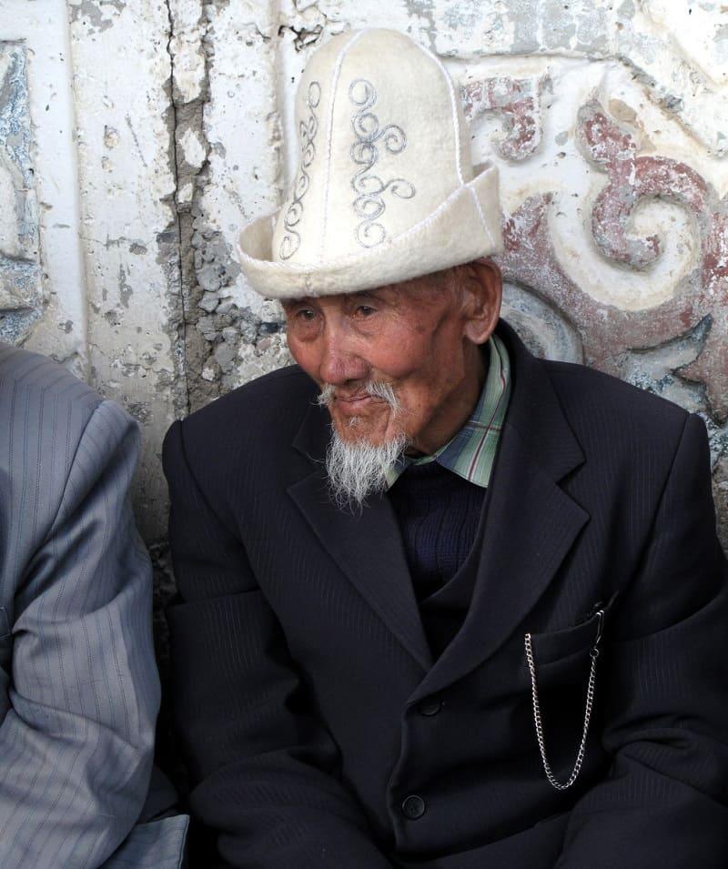Киргизский старец Аксакал
