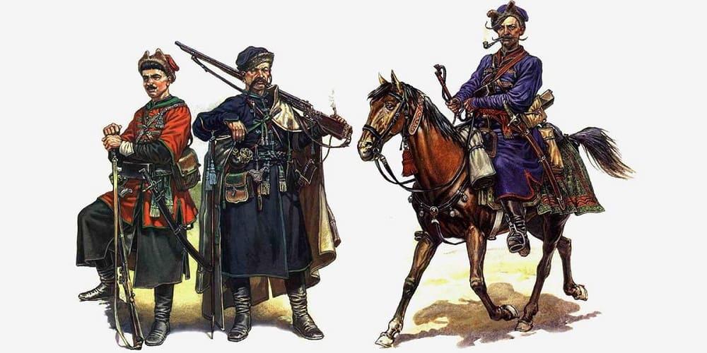 Зипун считался важным элементом костюма казаков, военные походы даже называли «походами за зипунами»