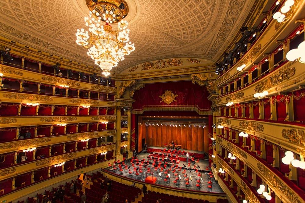 Знаменитый театр «Ла Скала»
