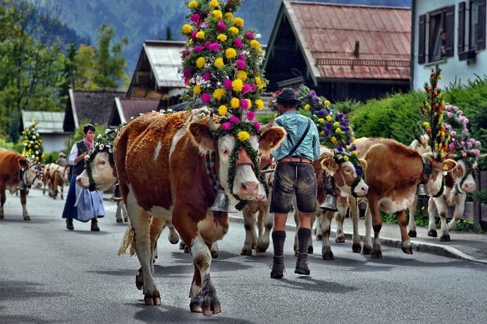 Праздник в Лихтенштейне
