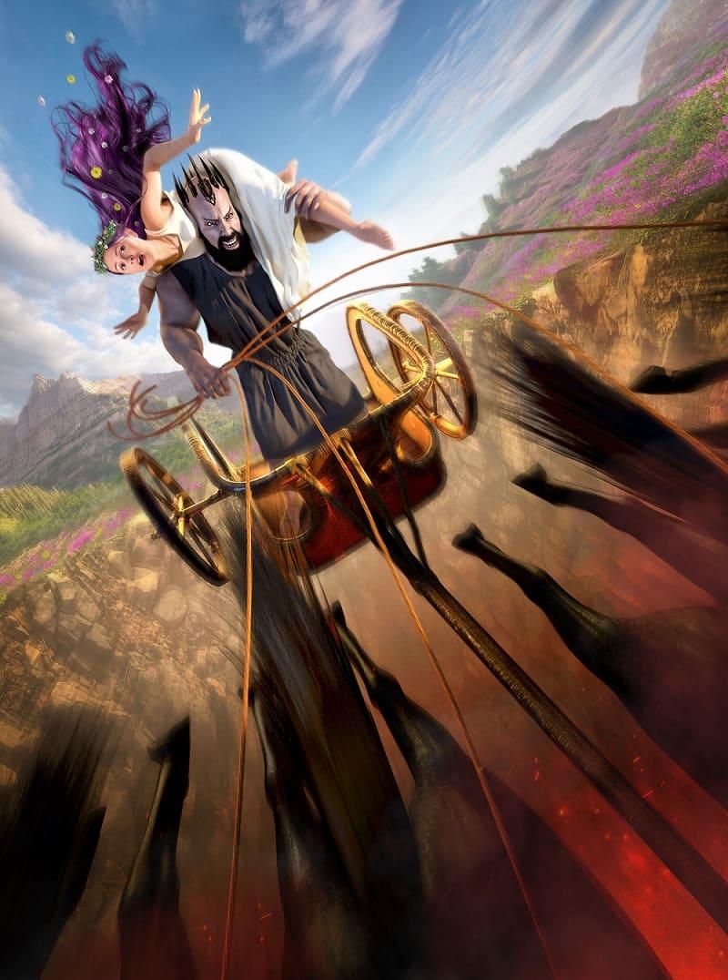 «Аид похищает Персефону» / © Kirk DouPonce / kirkdou.artstation.com