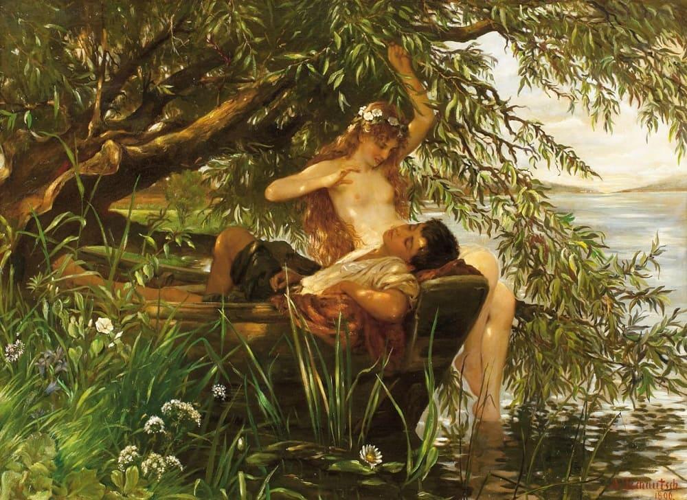 Альберт Чаут «Чары» ,1896 год Местонахождение: Частная коллекция