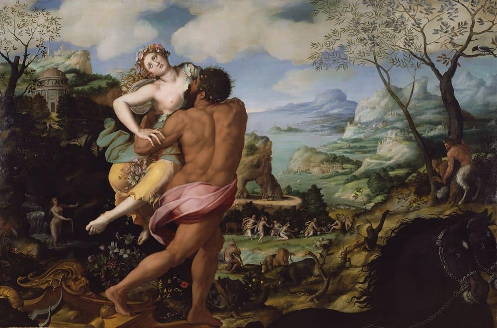 Аллори Алессандро «Похищение Прозерпины», 1570 год Местонахождение: Музей Гетти, Лос-Анджелес, США
