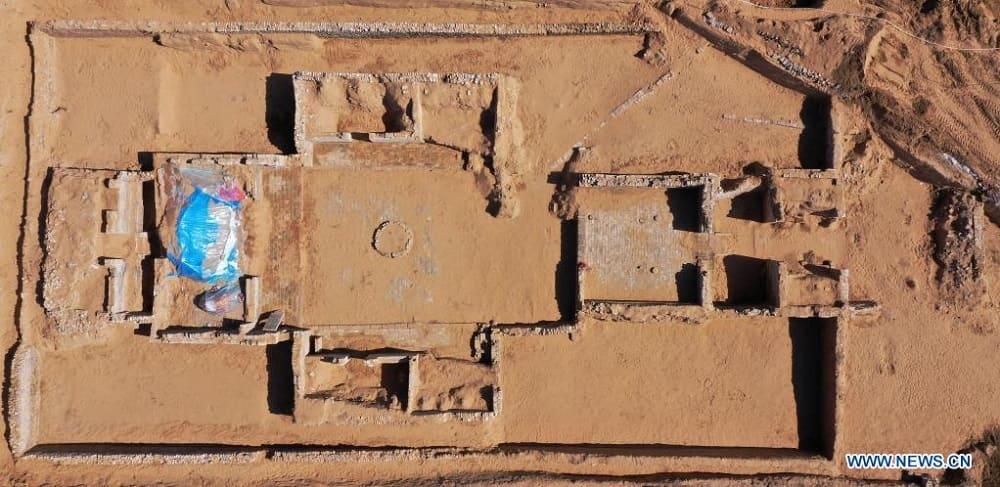 Найденный в Китае замок