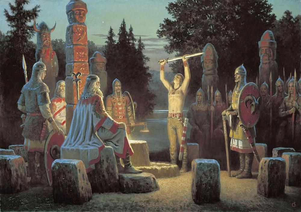 Борис Ольшанский «Клятва Сварожича», 2003 год