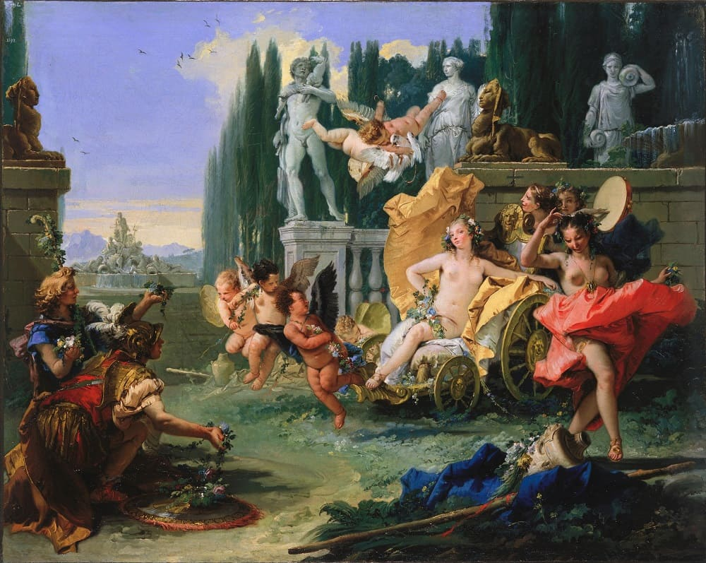 Джованни Баттиста Тьеполо «Империя Флоры», 1743 год Местонахождение: Музей изобразительных искусств Сан-Франциско, США
