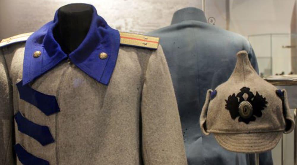 Буденовка из сукна в Музее «Россия в Великой войне»