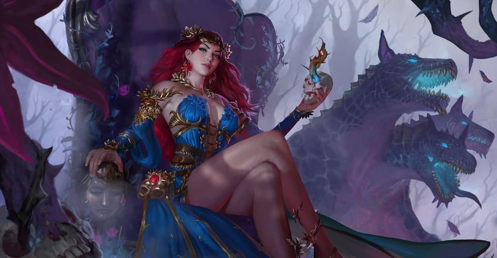 «Персефона царица ада»/ © jaggu dada / jaggudada.artstation.com
