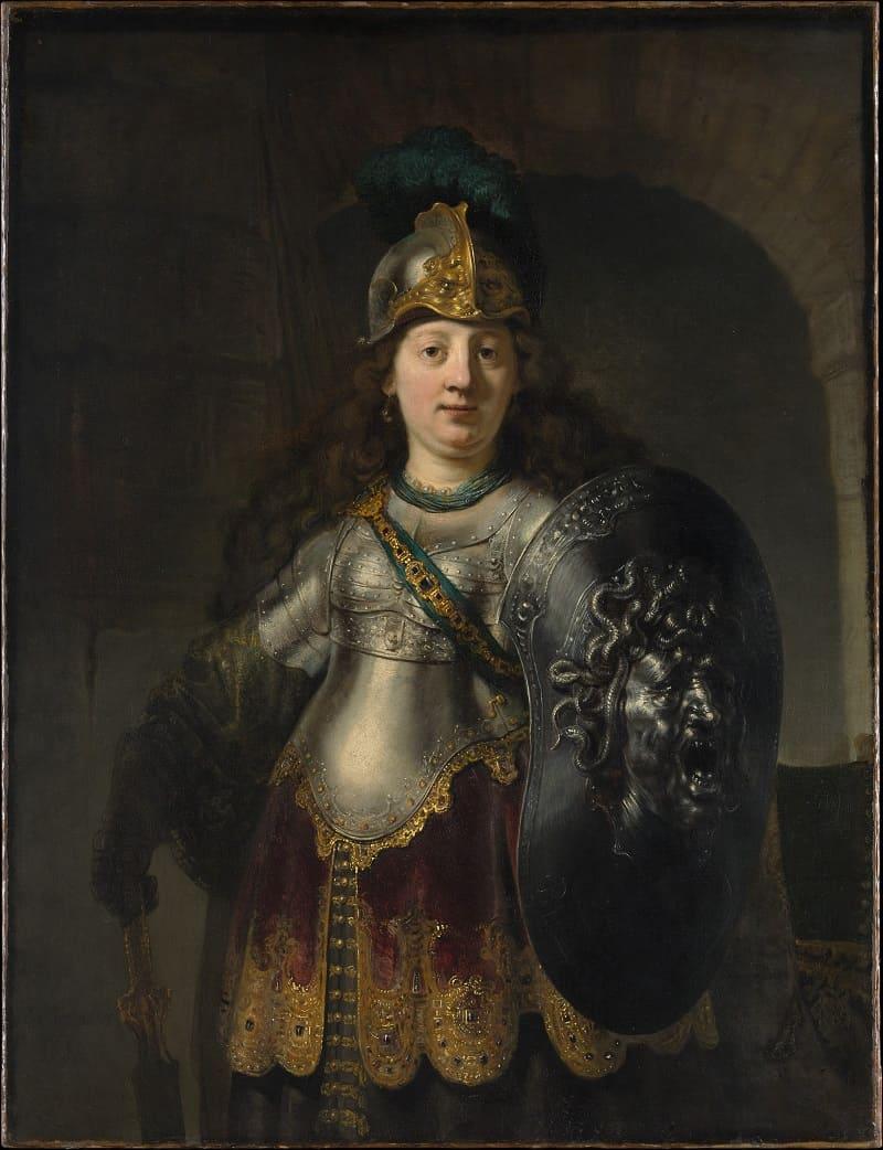 Рембрант «Беллона» Местонахождение: Metropolitan Museum of Art Манхэттен, Нью-Йорк, США